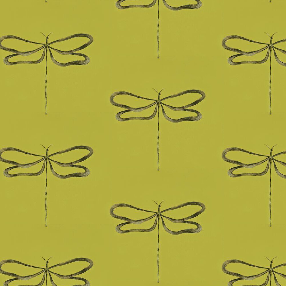 Scion Dragonfly Green Wallpaper - Product code: 110245