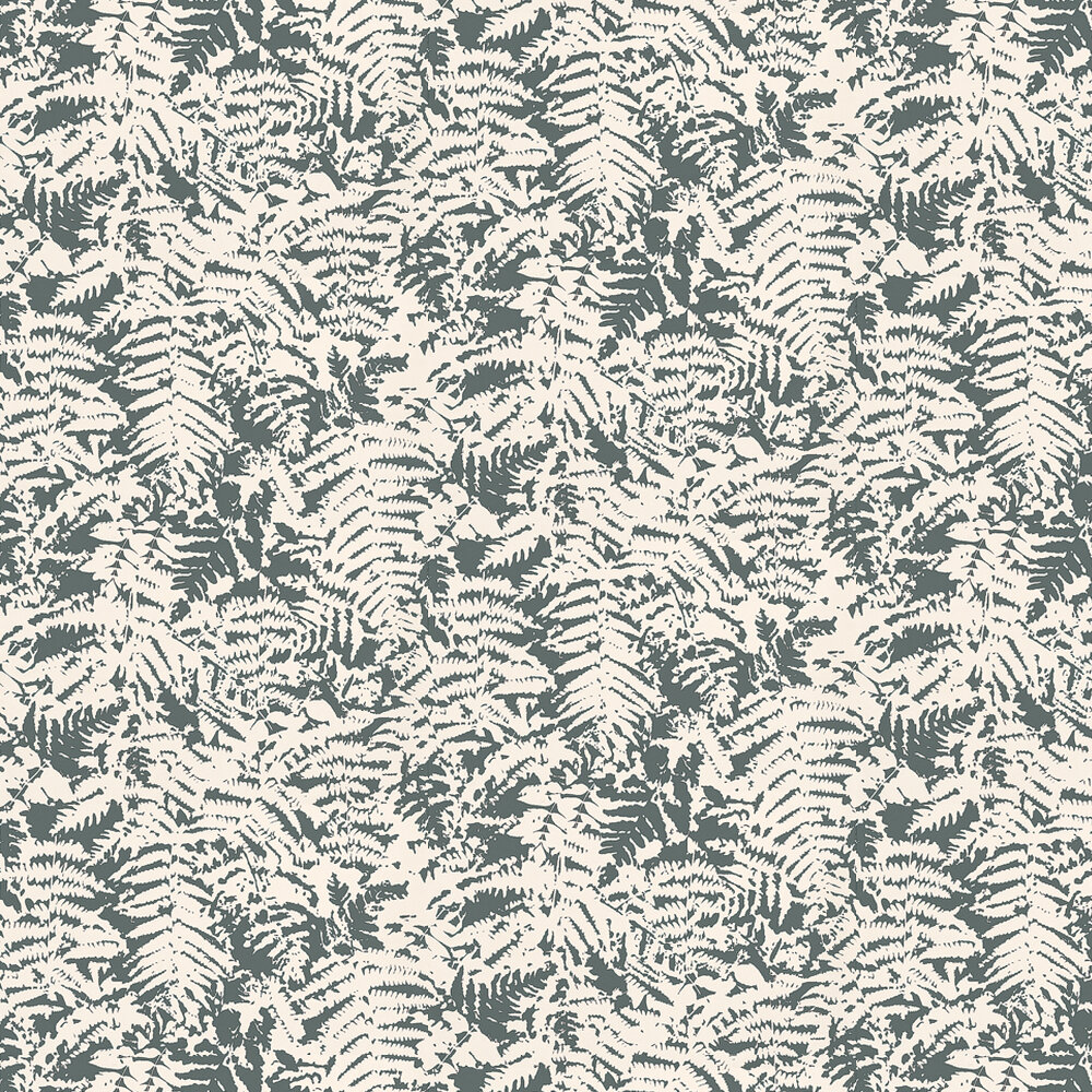 Little Greene Fern Charcoal / Grey Wallpaper - Product code: 0280FEOFFBL