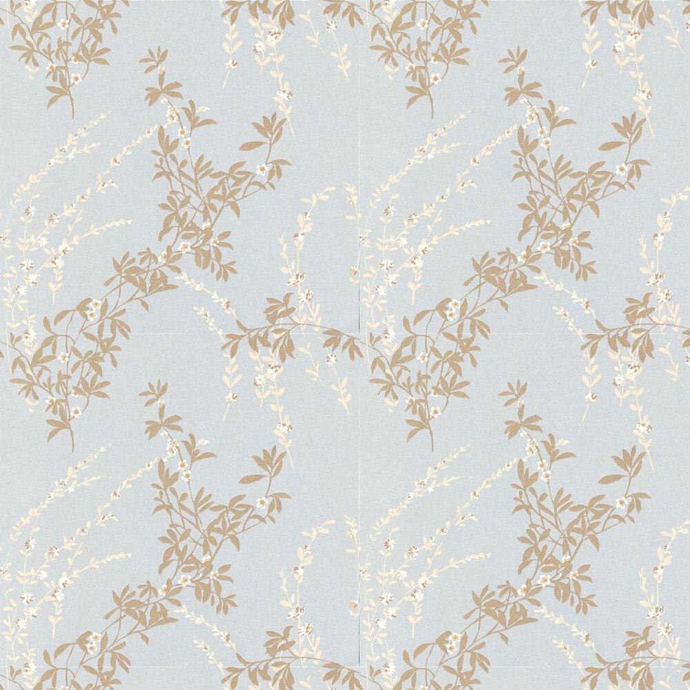 Thibaut Fiona Pale Blue Wallpaper - Product code: 839-T-4934
