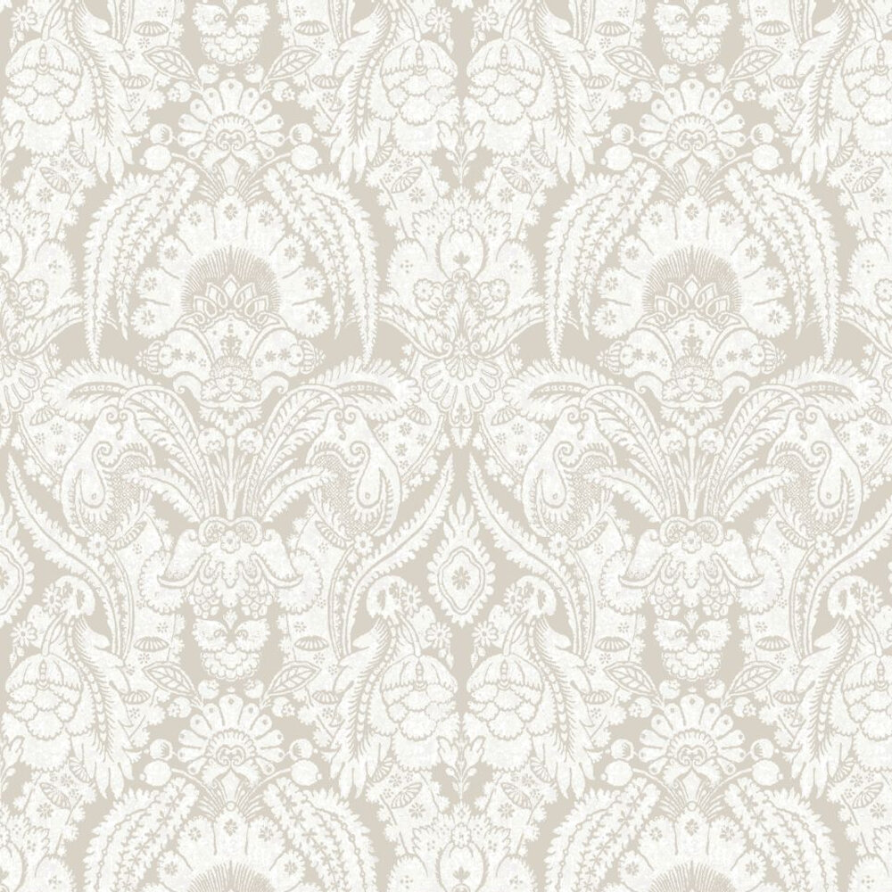 Cole & Son Chatterton Chalk Wallpaper - Product code: 94/2008