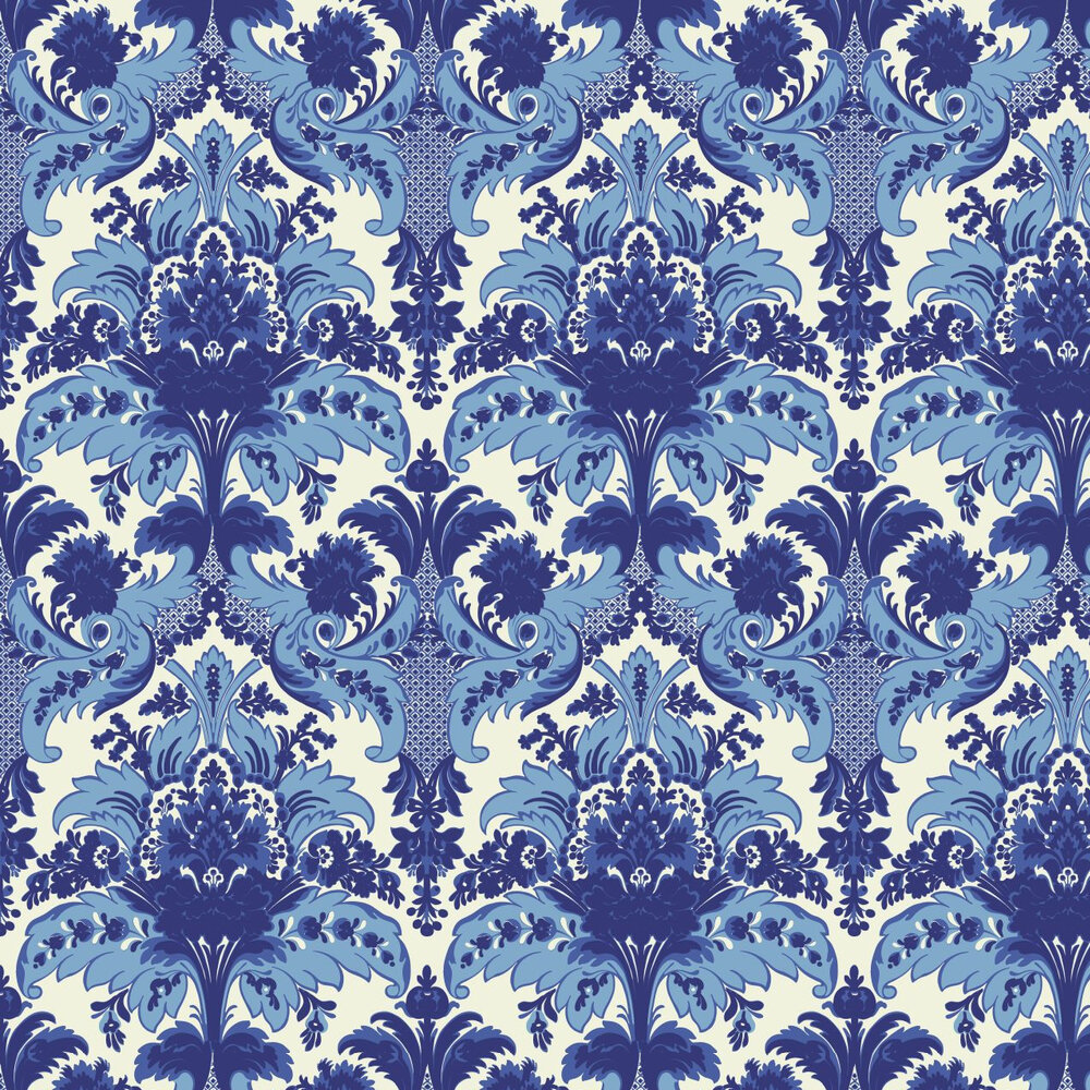 Cole & Son Aldwych Blue Wallpaper - Product code: 94/5025