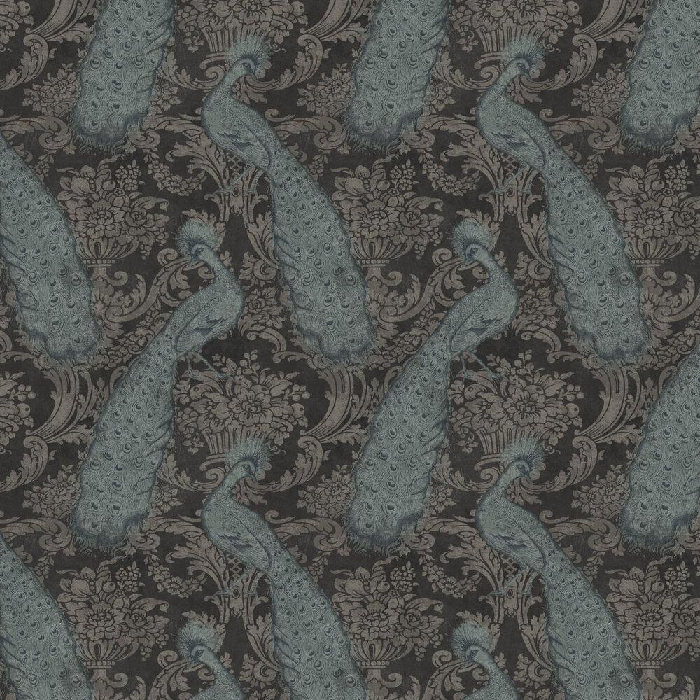 Cole & Son Byron Aqua Wallpaper - Product code: 94/7041