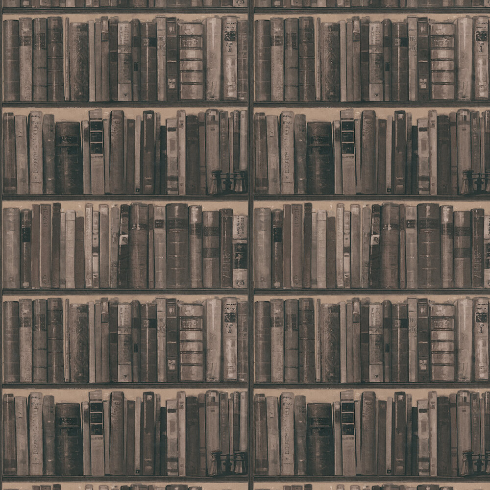 Library Wallpaper - Cocoa - by Andrew Martin
