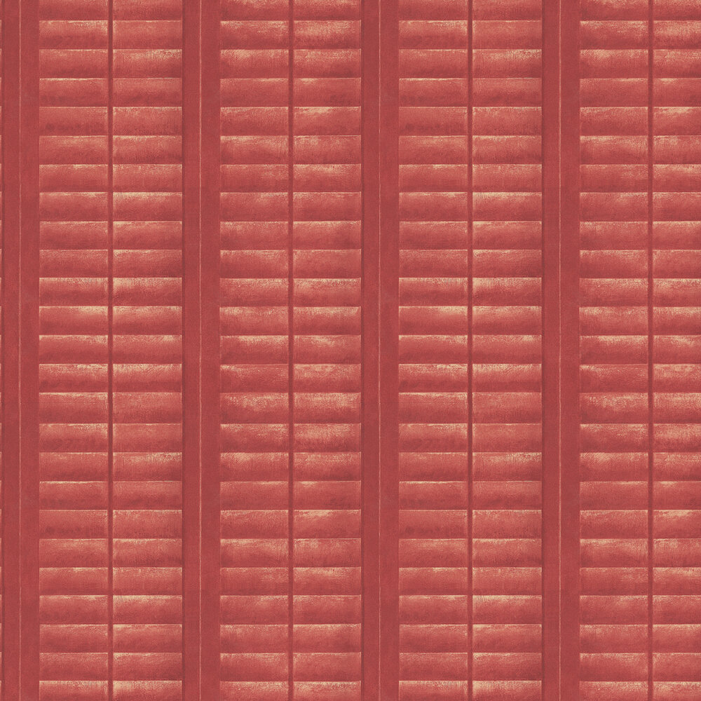 Andrew Martin Plantation Red Wallpaper - Product code: PL05-LACQUER