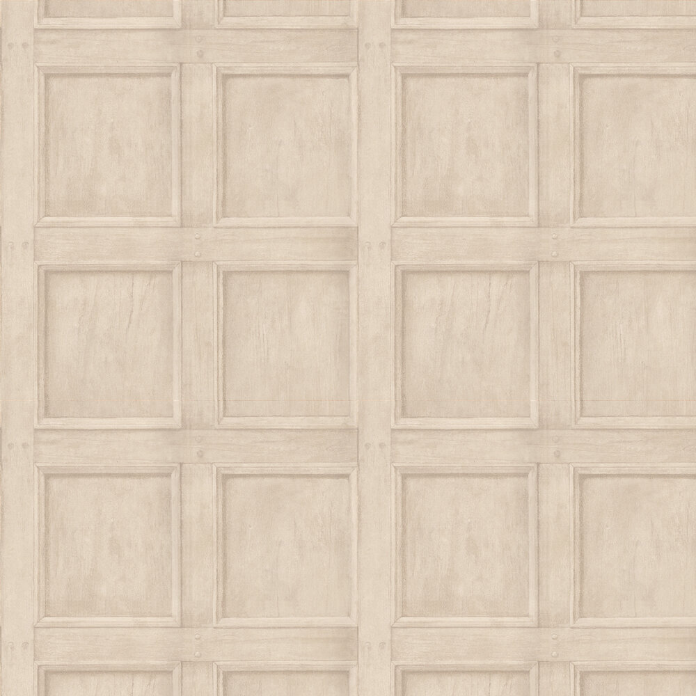 Regent Wallpaper - Linen - by Andrew Martin