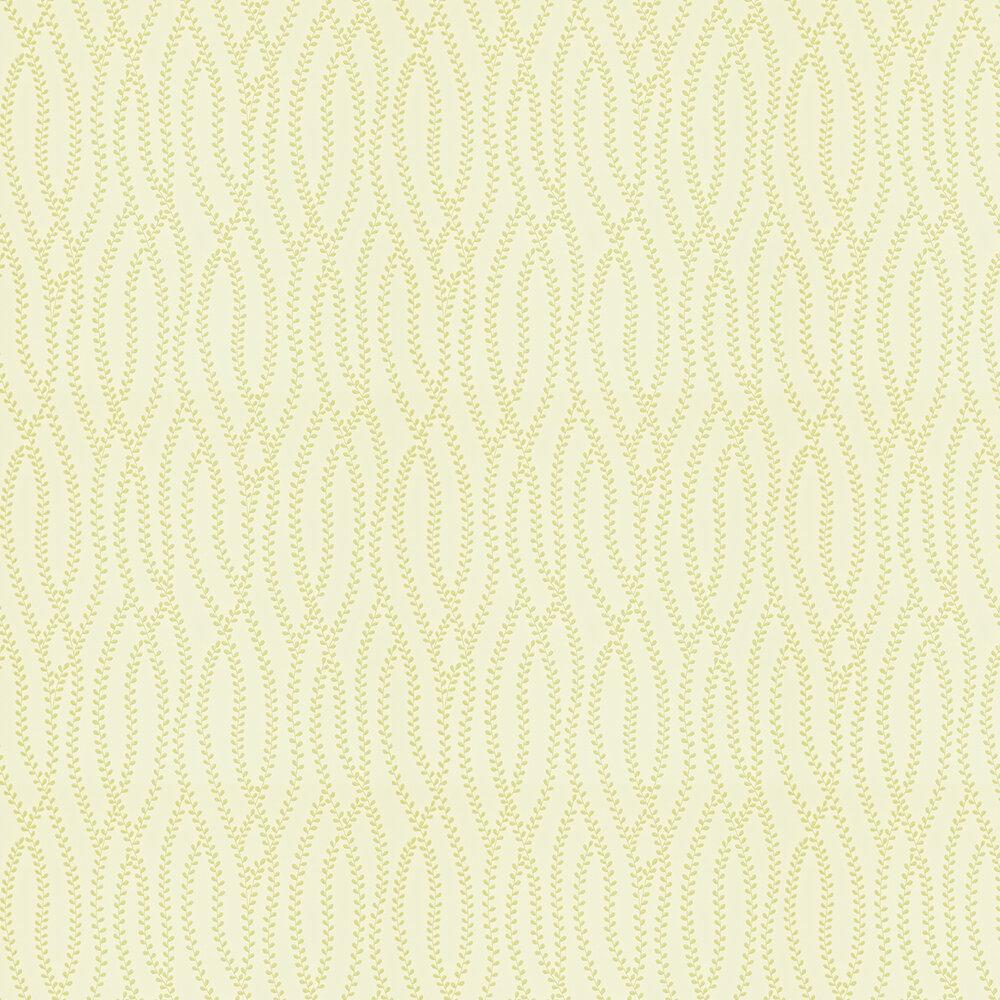 Sanderson Ester Ivory / Green Wallpaper - Product code: 211979