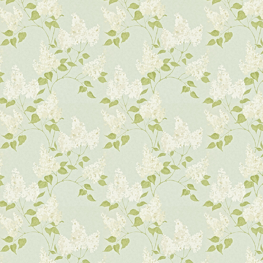 Sanderson Lilacs Duck Egg Wallpaper - Product code: 211983