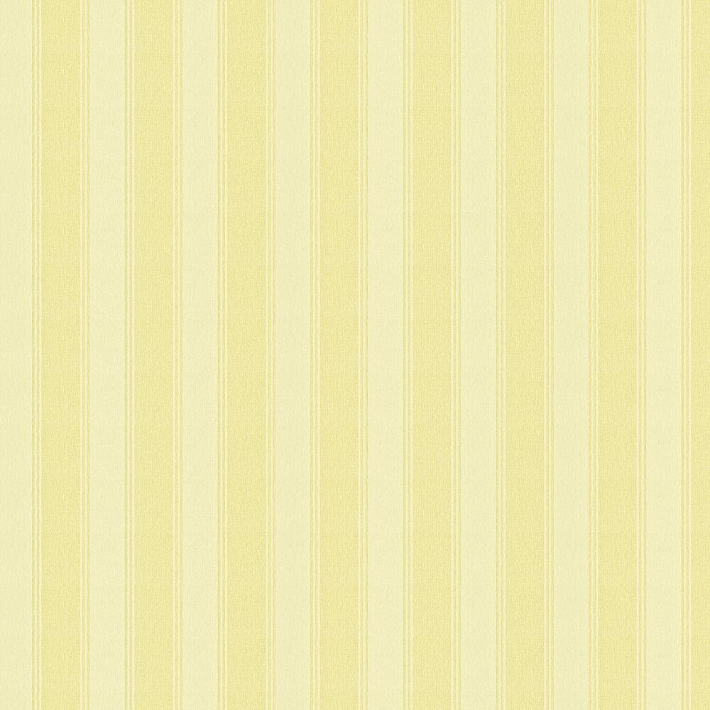 Sanderson Addison Stripe Yellow Wallpaper - Product code: 211976