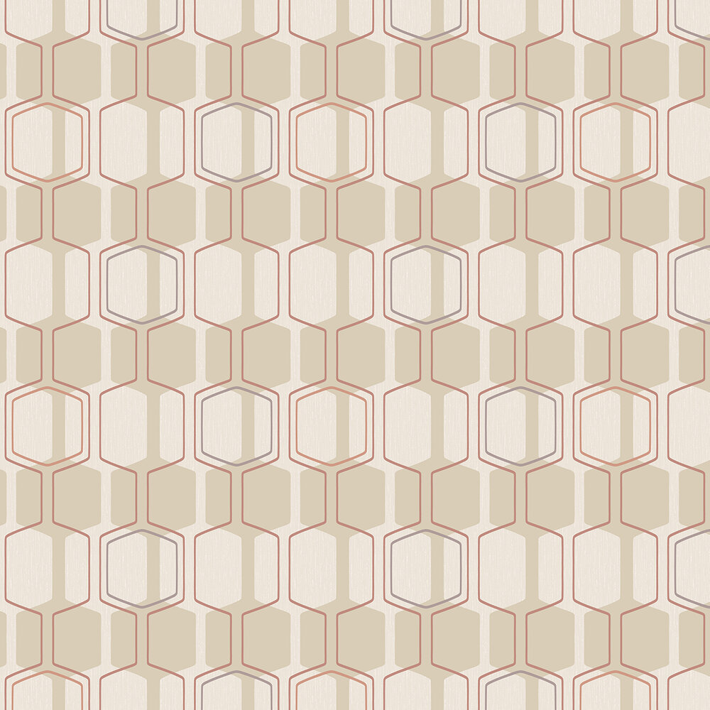 Oscar Wallpaper - Beige - by Albany