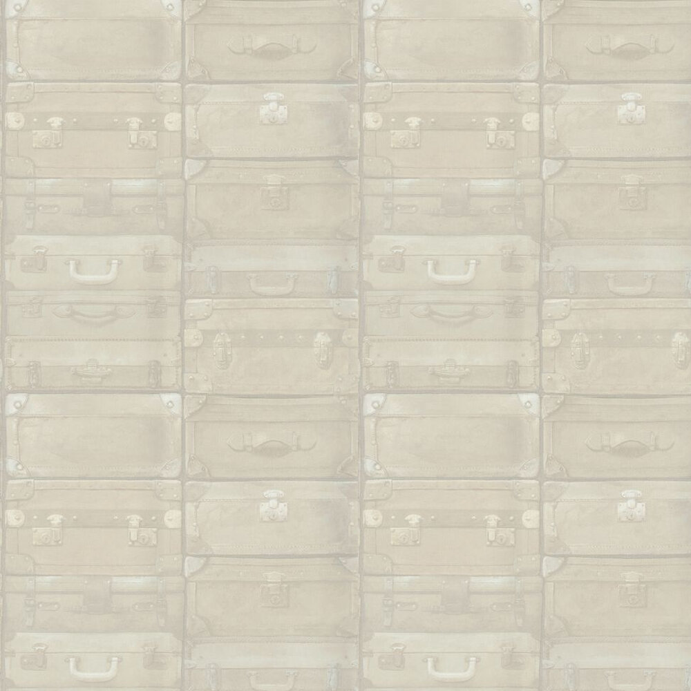 Luggage Wallpaper - Vellum - by Andrew Martin