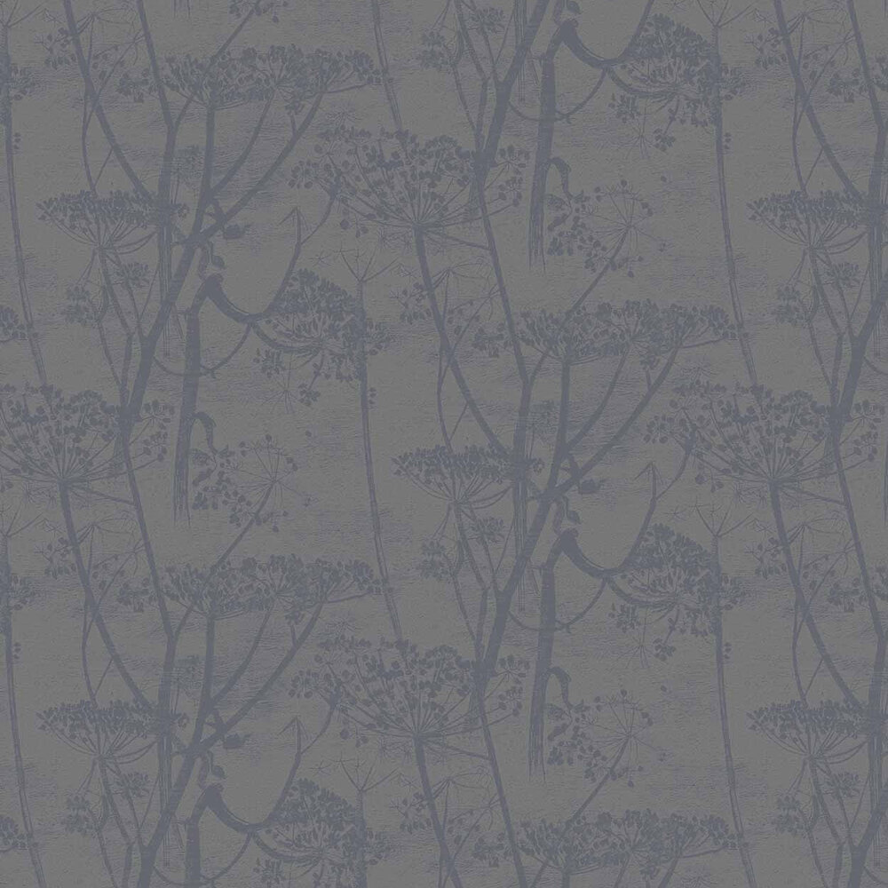 Cole & Son Cow Parsley Charcoal Wallpaper - Product code: 95/9050