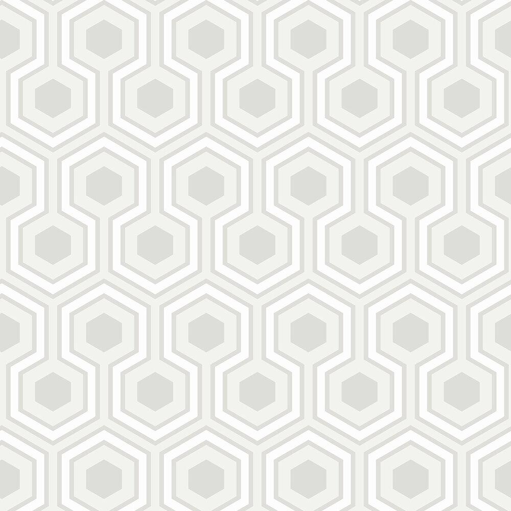 Hicks Grand Wallpaper - White - by Cole & Son