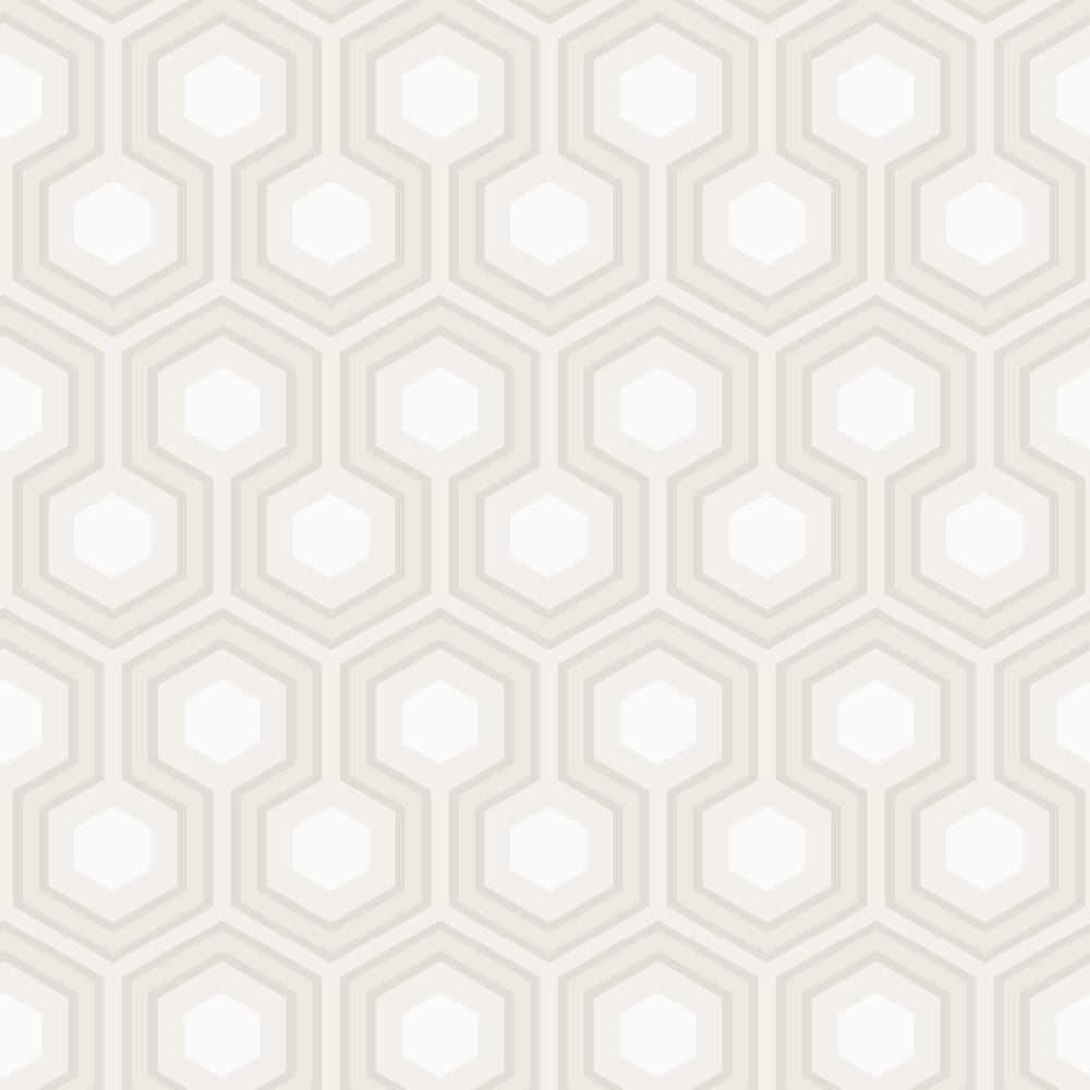 Hicks Grand Wallpaper - Grey & White - by Cole & Son