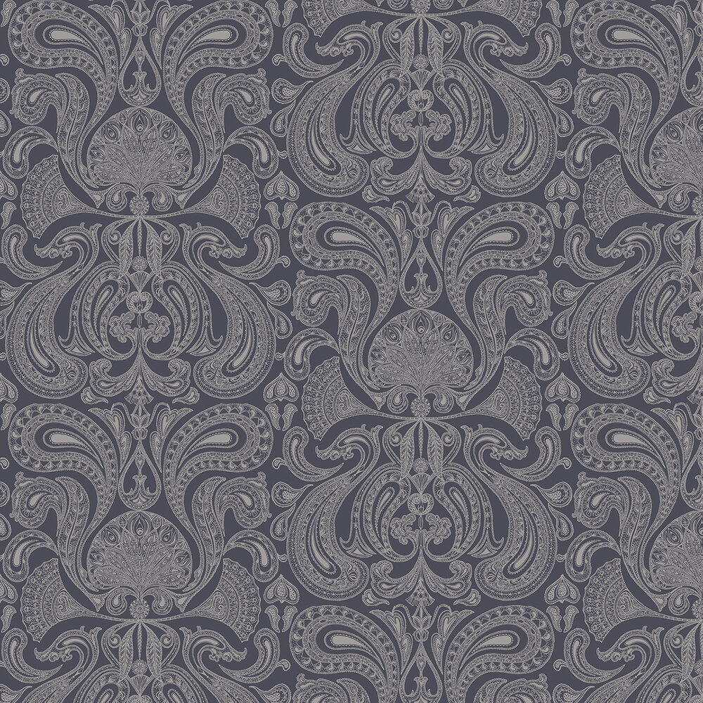 Cole & Son Malabar Slate Grey Wallpaper - Product code: 95/7043