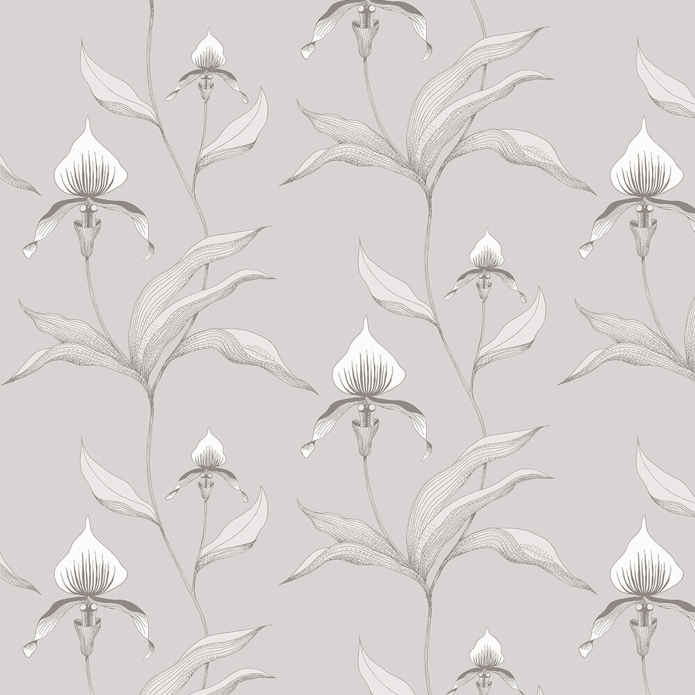 Cole & Son Orchid White Wallpaper - Product code: 95/10055