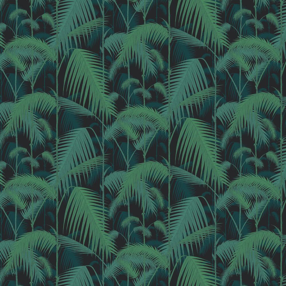 Cole & Son Palm Jungle Black Wallpaper - Product code: 95/1003