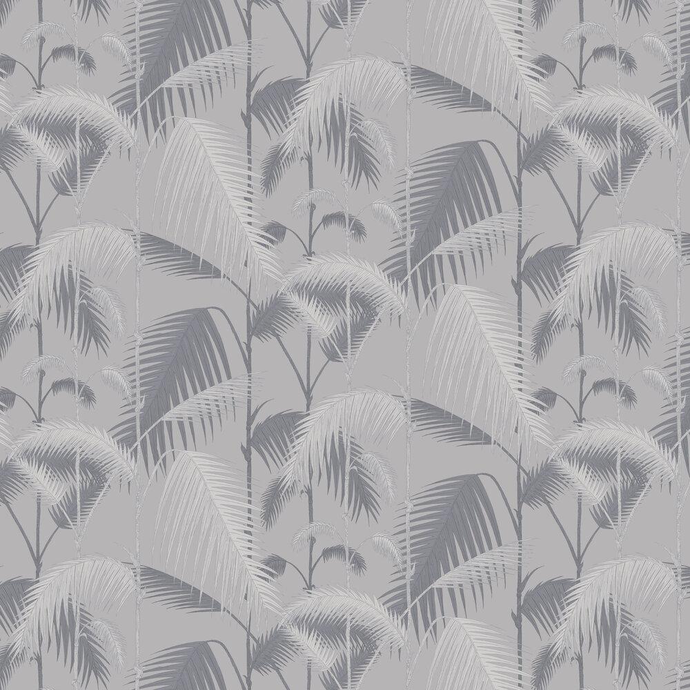Cole & Son Palm Jungle Silver Wallpaper - Product code: 95/1007