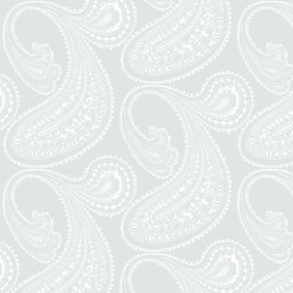 Rajapur Wallpaper - Pale Blue - by Cole & Son