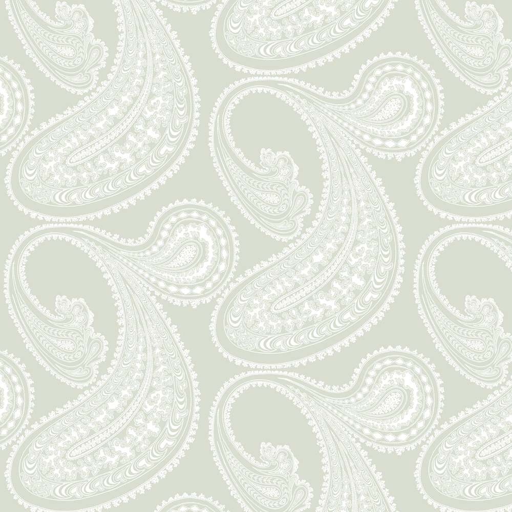 Rajapur Wallpaper - Soft Green - by Cole & Son