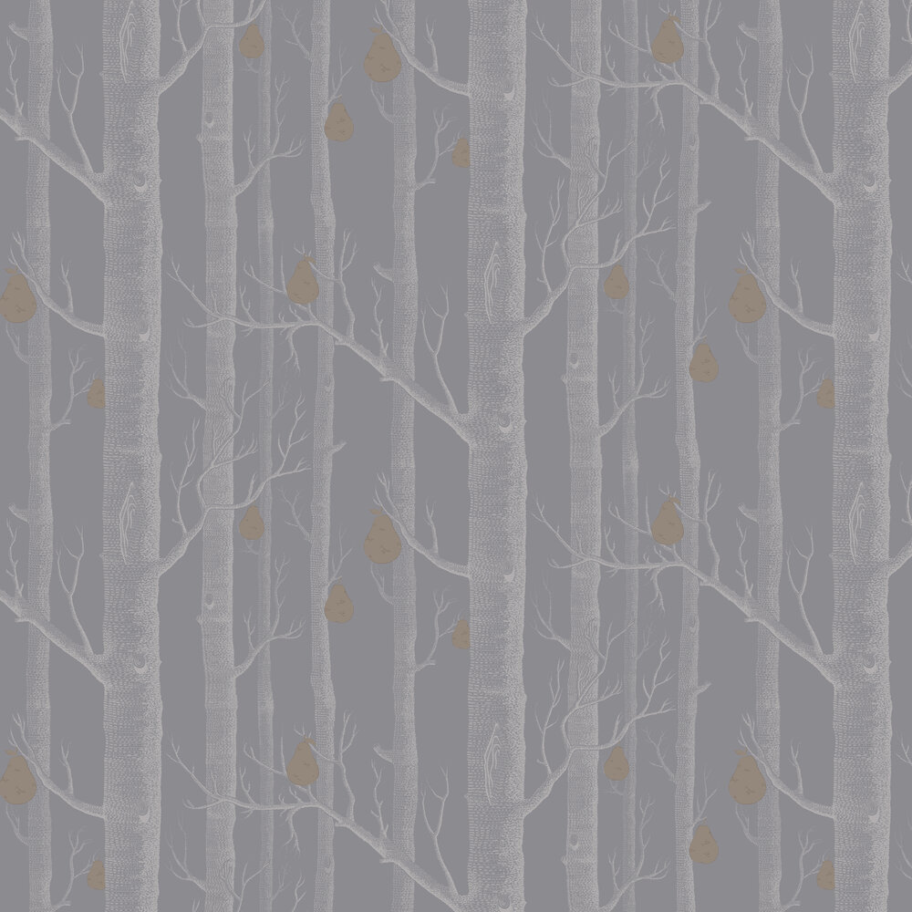 Cole & Son Woods and Pears Grey Wallpaper - Product code: 95/5030