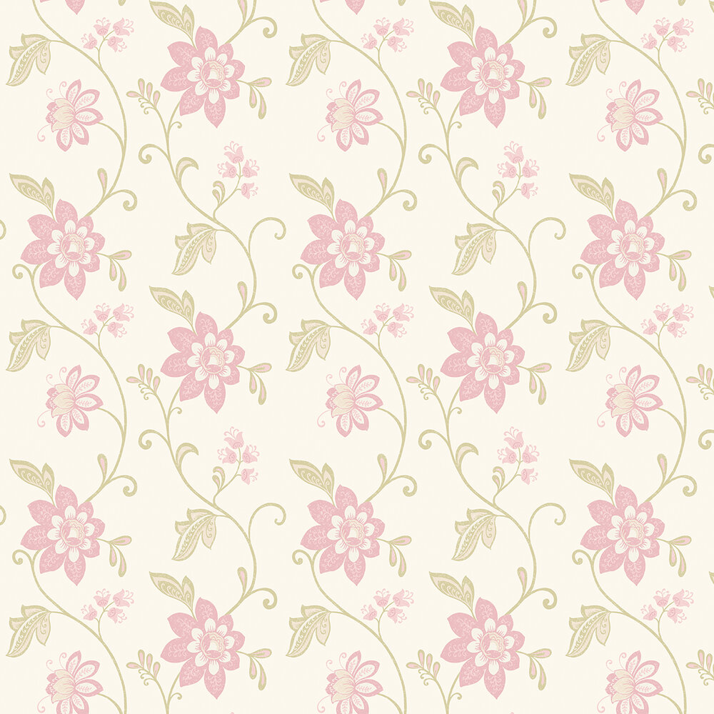 Christina Wallpaper - Pale Pink - by Albany
