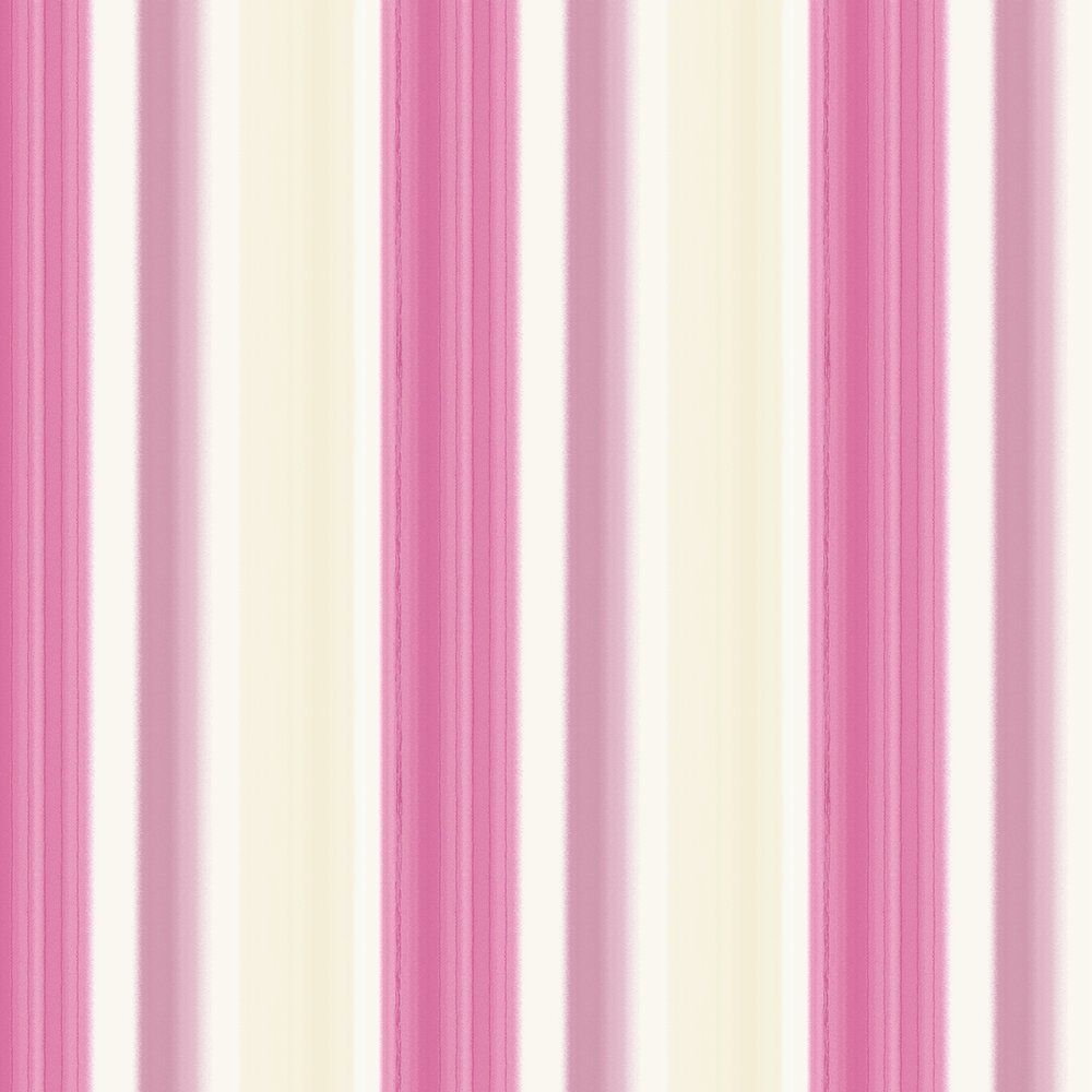 Crispin Stripe Wallpaper - Soft Pink - by Albany