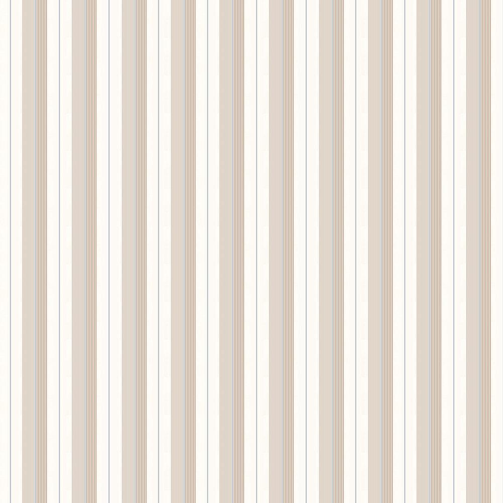 Ralph Lauren Aiden Stripe Blue / Beige Wallpaper - Product code: PRL020/08