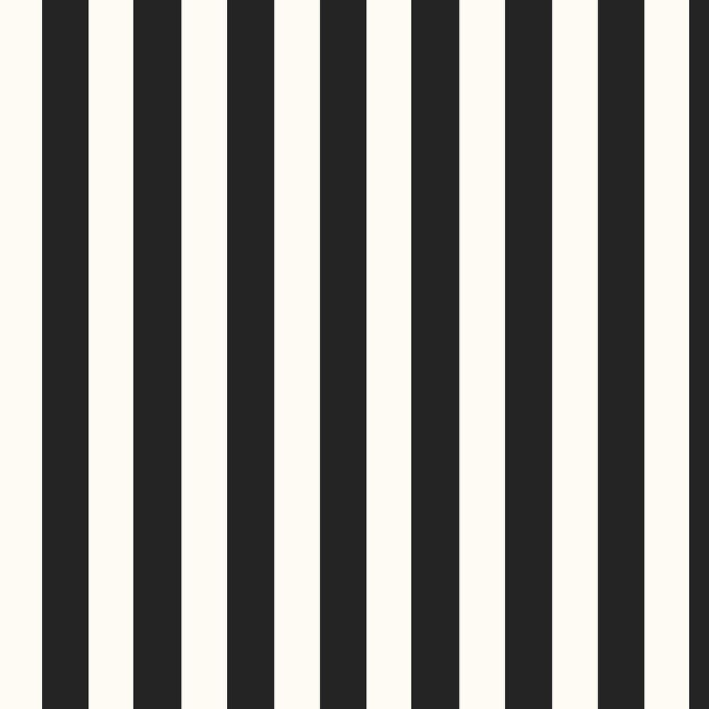 Ralph Lauren Spalding Stripe Black / White Wallpaper - Product code: PRL026/09
