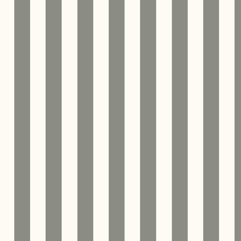 Ralph Lauren Spalding Stripe Grey / White Wallpaper - Product code: PRL026/12