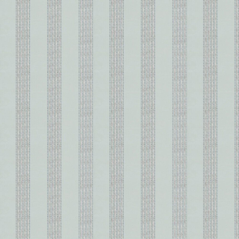 Osborne & Little Paillons Blue / Silver Wallpaper - Product code: W6435-01