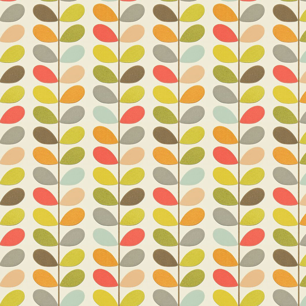Orla Kiely Wallpaper Multi Stem 110384