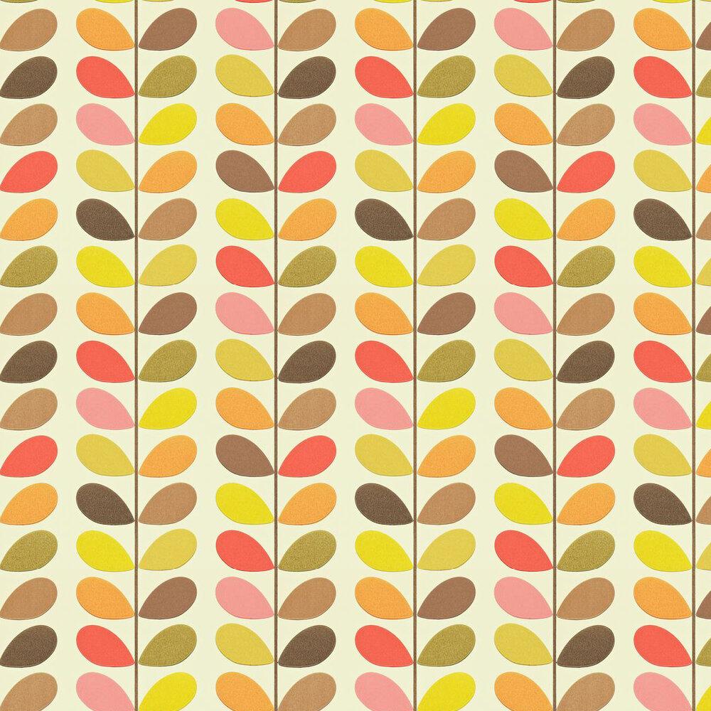 Multi Stem By Orla Kiely Hibiscus Wallpaper 110386