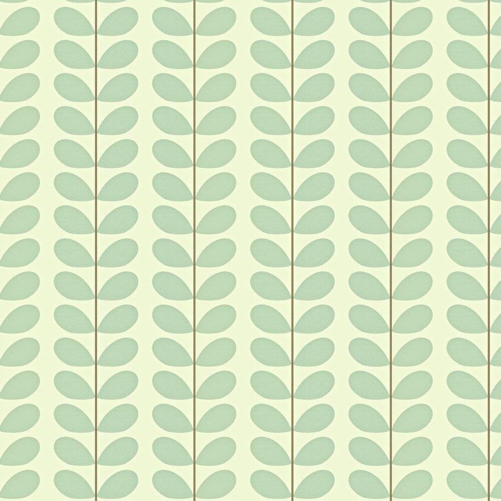 Orla Kiely Classic Stem Duck Egg Wallpaper - Product code: 110390