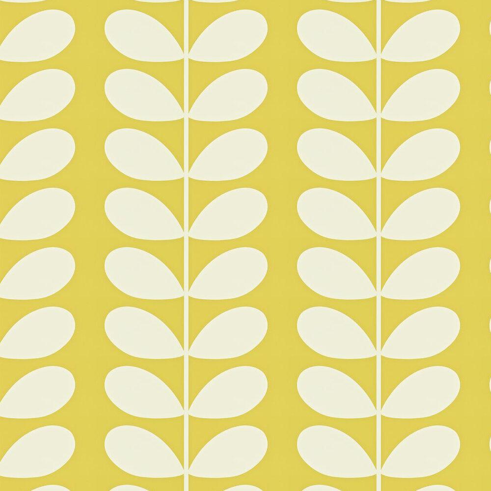 Giant Stem Wallpaper - Lime - by Orla Kiely