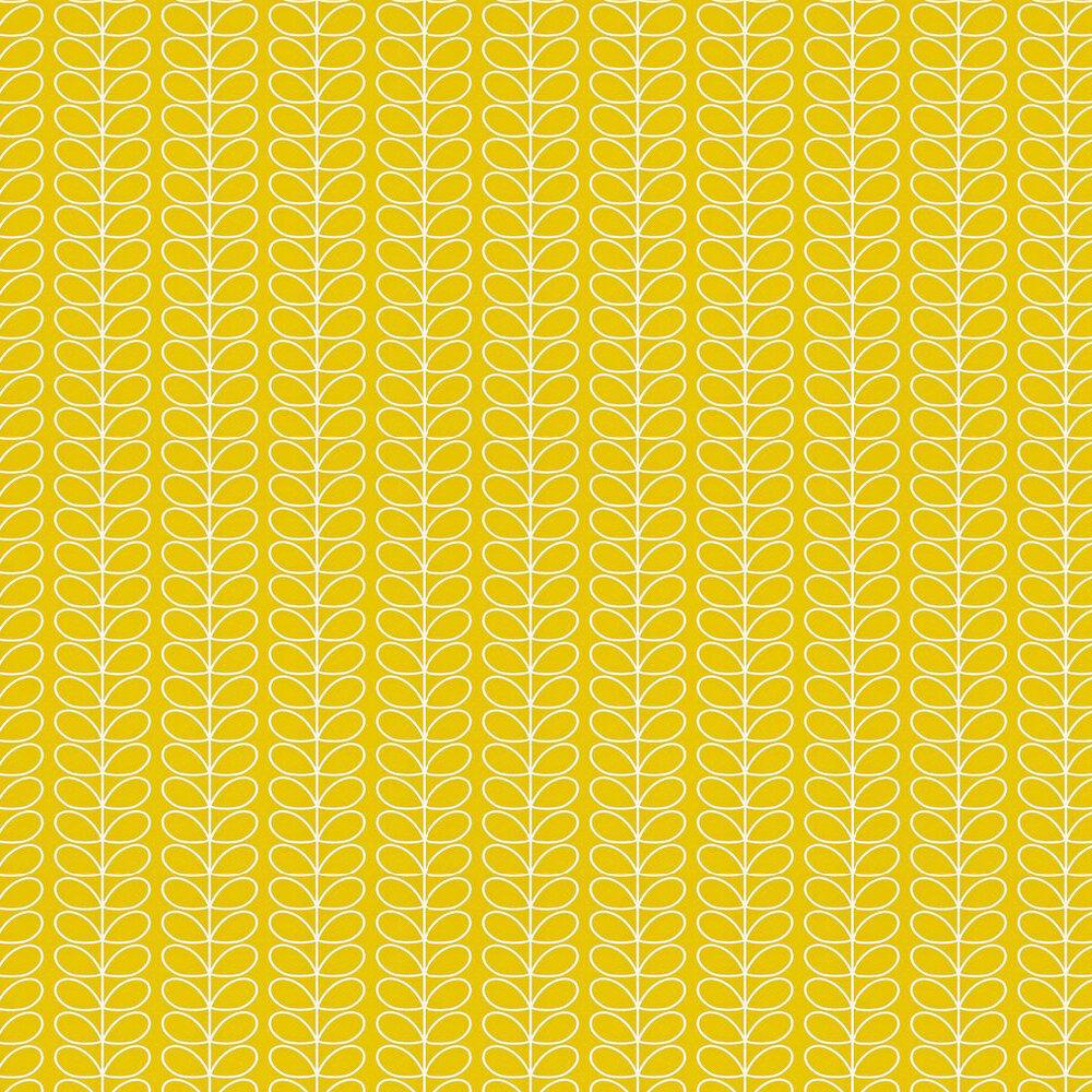 Orla Kiely Linear Stem Yellow Wallpaper - Product code: 110400