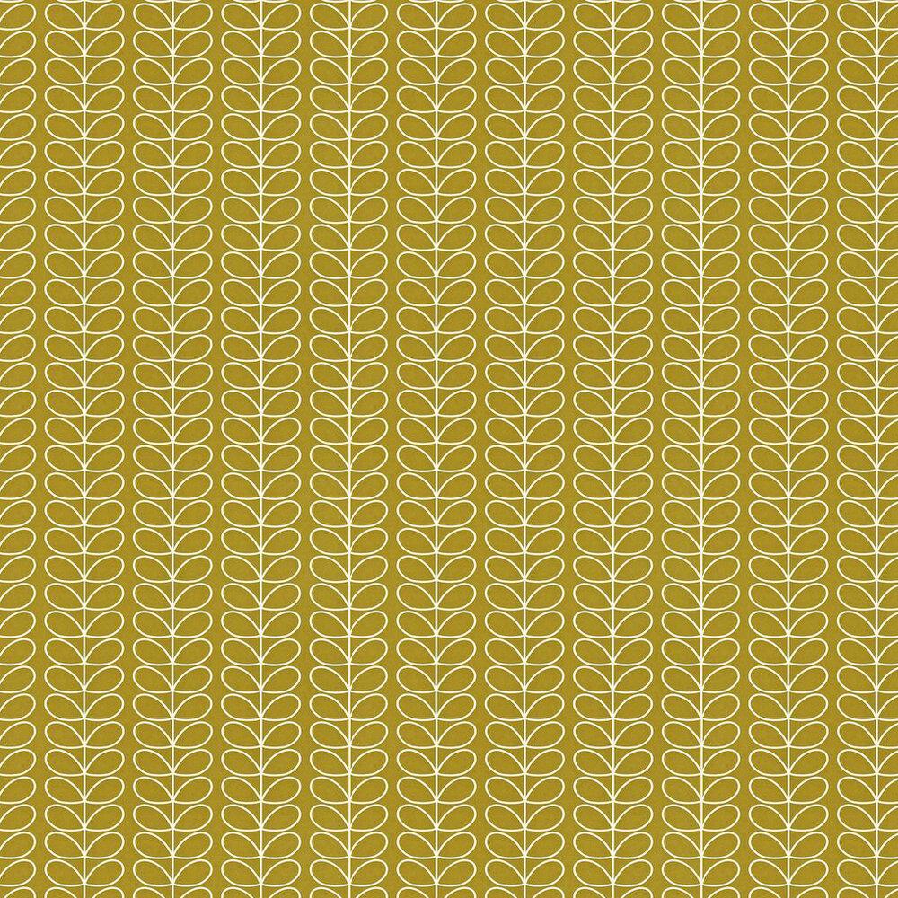 Orla Kiely Linear Stem Antique Green Wallpaper - Product code: 110401