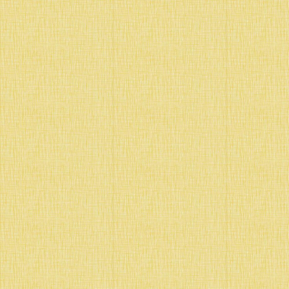 Scribble Wallpaper - Yellow - by Orla Kiely