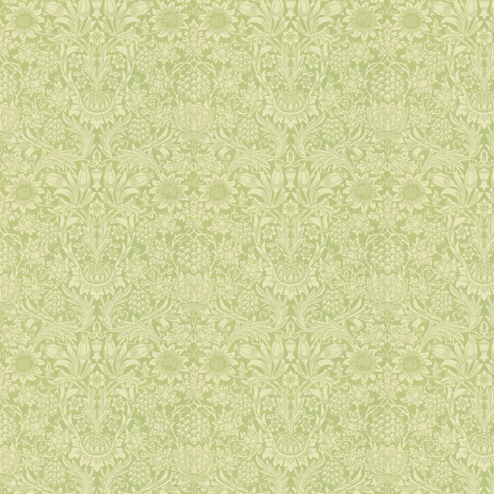 Morris Sunflower Green Wallpaper - Product code: WM7197/3