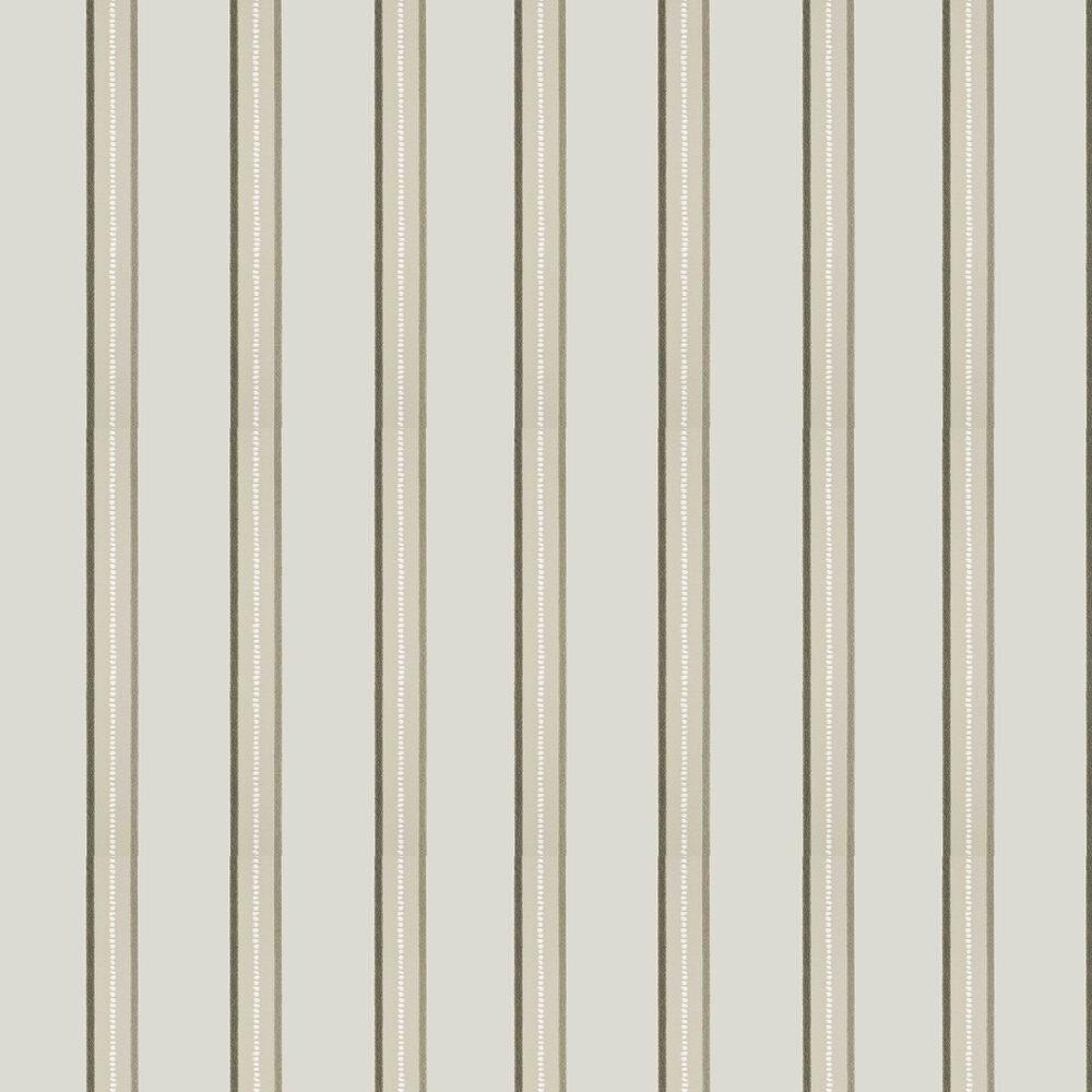 G P & J Baker Crayford Stripe Linen / Ivory Wallpaper - Product code: BW45036/1