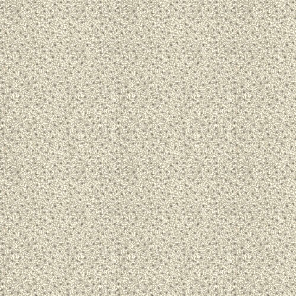 Myrtle Wallpaper - Linen / Ivory - by G P & J Baker