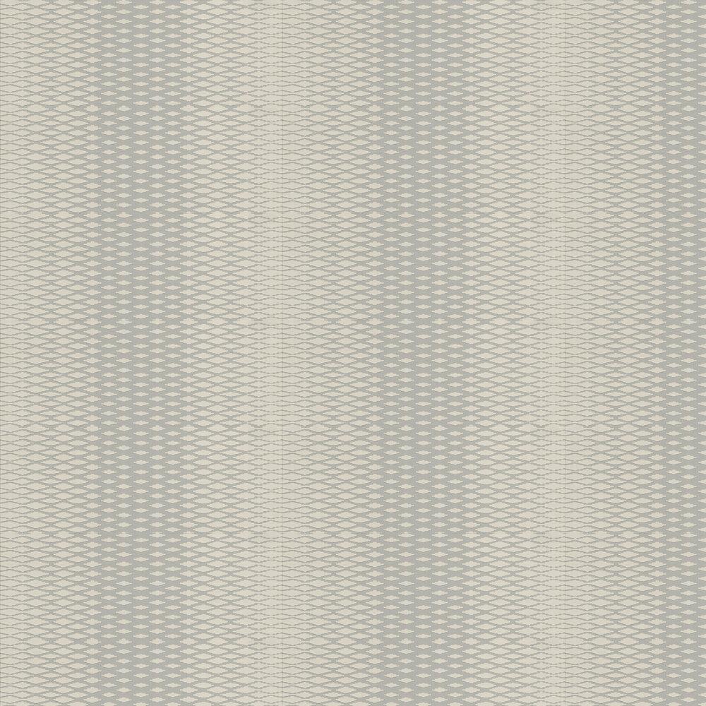 Lattice Wallpaper - Charcoal Grey - by Farrow & Ball