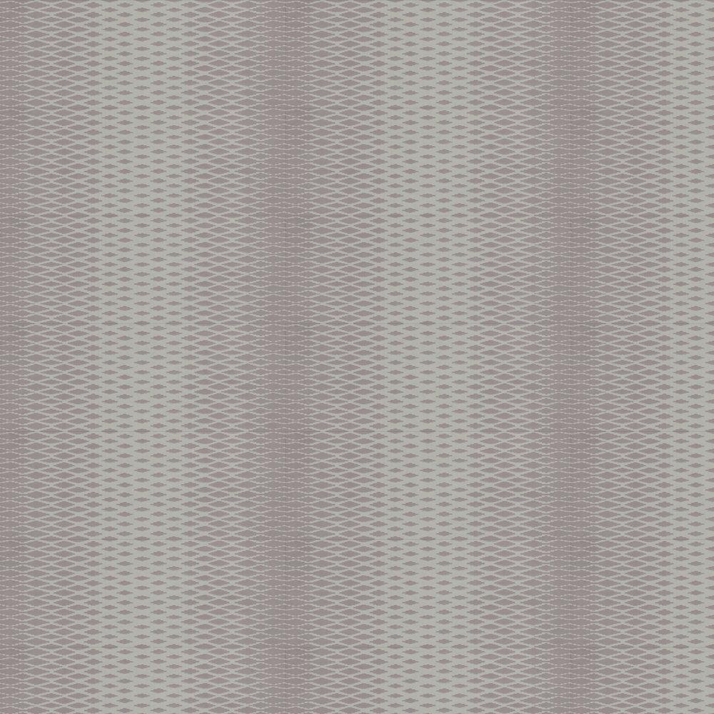 Lattice Wallpaper - Purple - by Farrow & Ball