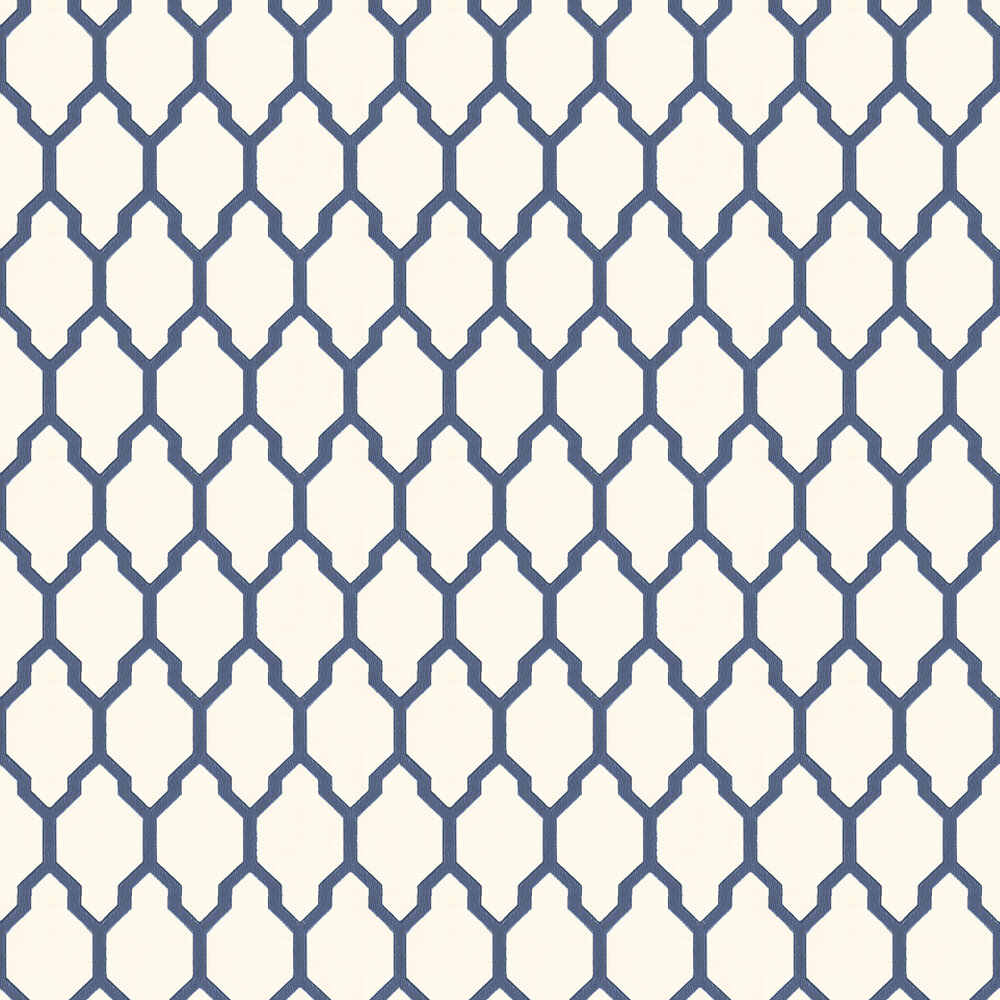 Farrow & Ball Tessella Navy Wallpaper - Product code: BP 3604