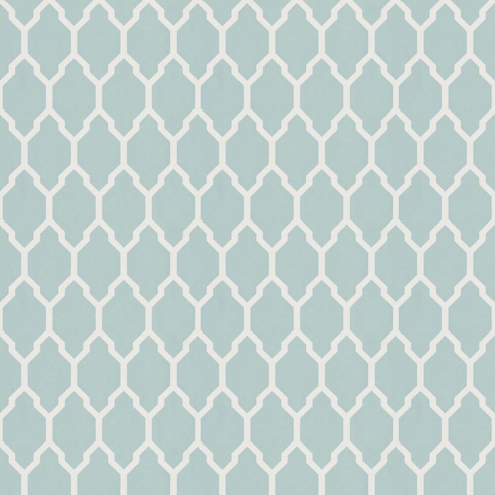 Farrow & Ball Tessella Aqua Wallpaper - Product code: BP 3605