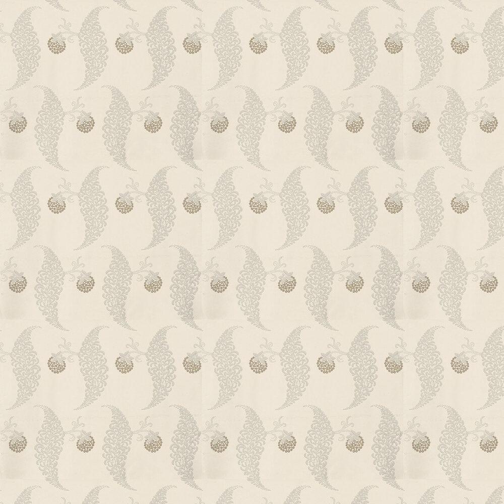 Farrow & Ball Rosslyn Grey Blue / Off White Wallpaper - Product code: BP 1908