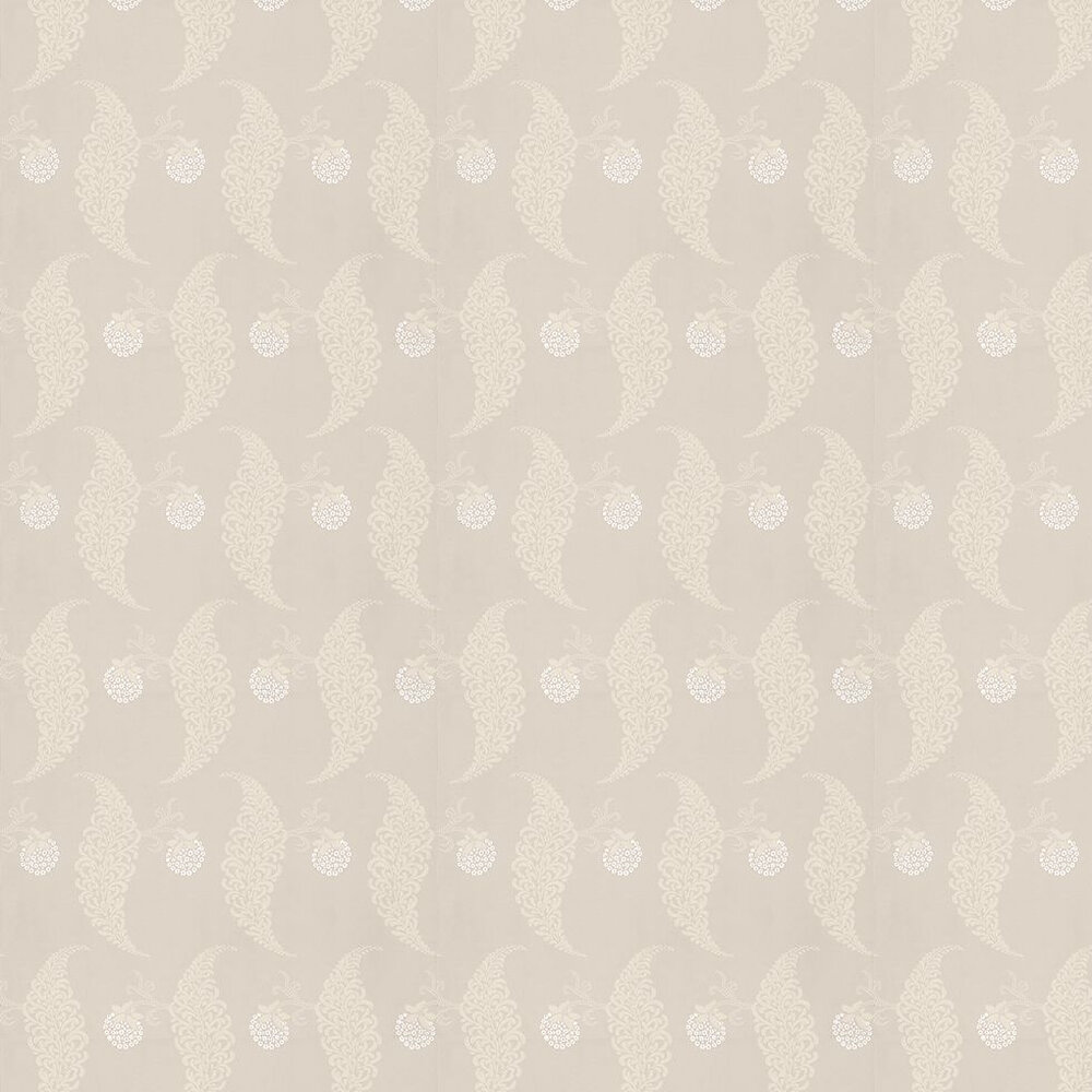 Farrow & Ball Rosslyn Taupe / White Wallpaper - Product code: BP 1911