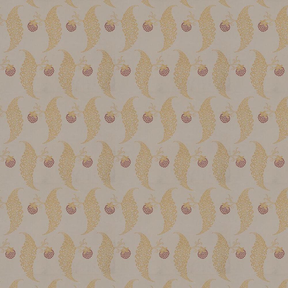 Farrow & Ball Rosslyn Metallic Gold / Taupe Wallpaper - Product code: BP 1925