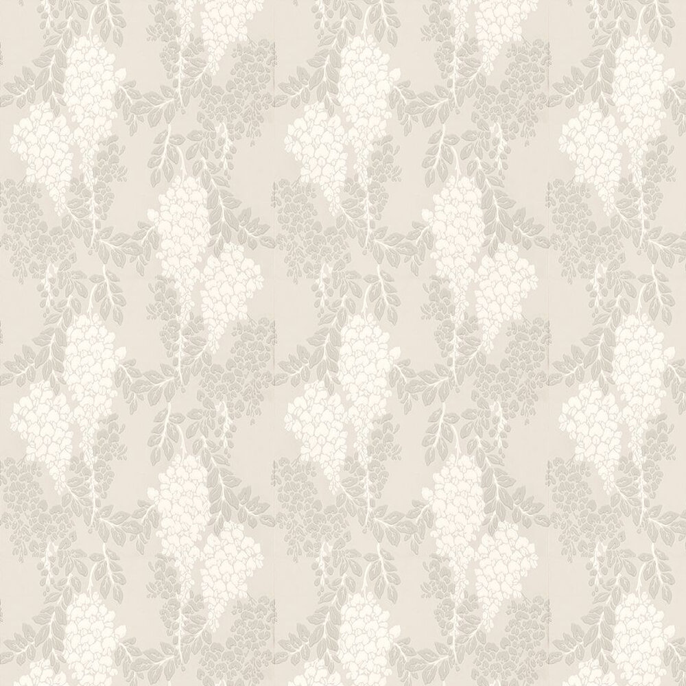 Farrow & Ball Wisteria Off White / Grey / Light Taupe Wallpaper - Product code: BP 2201