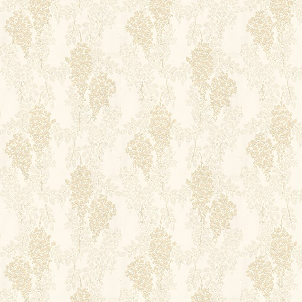 Wisteria By Farrow Ball Light Beige Grey Cream Wallpaper