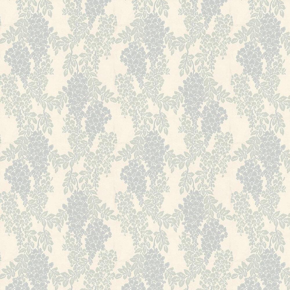 Farrow & Ball Wisteria Pastel Blue / Green / Cream Wallpaper - Product code: BP 2217